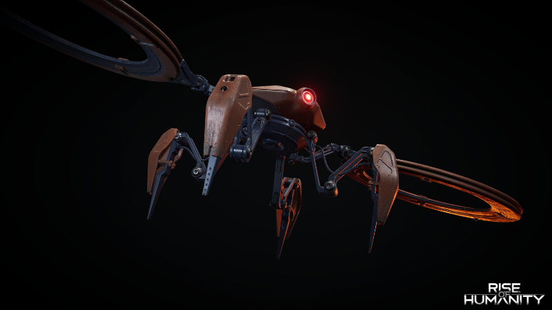 Rise of Humanity game enemy - Drone